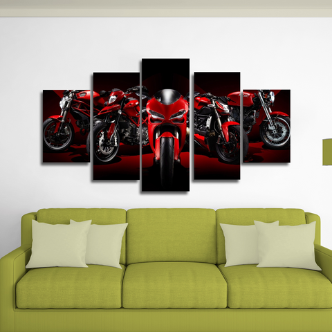 Ducati Canvas Wall Art