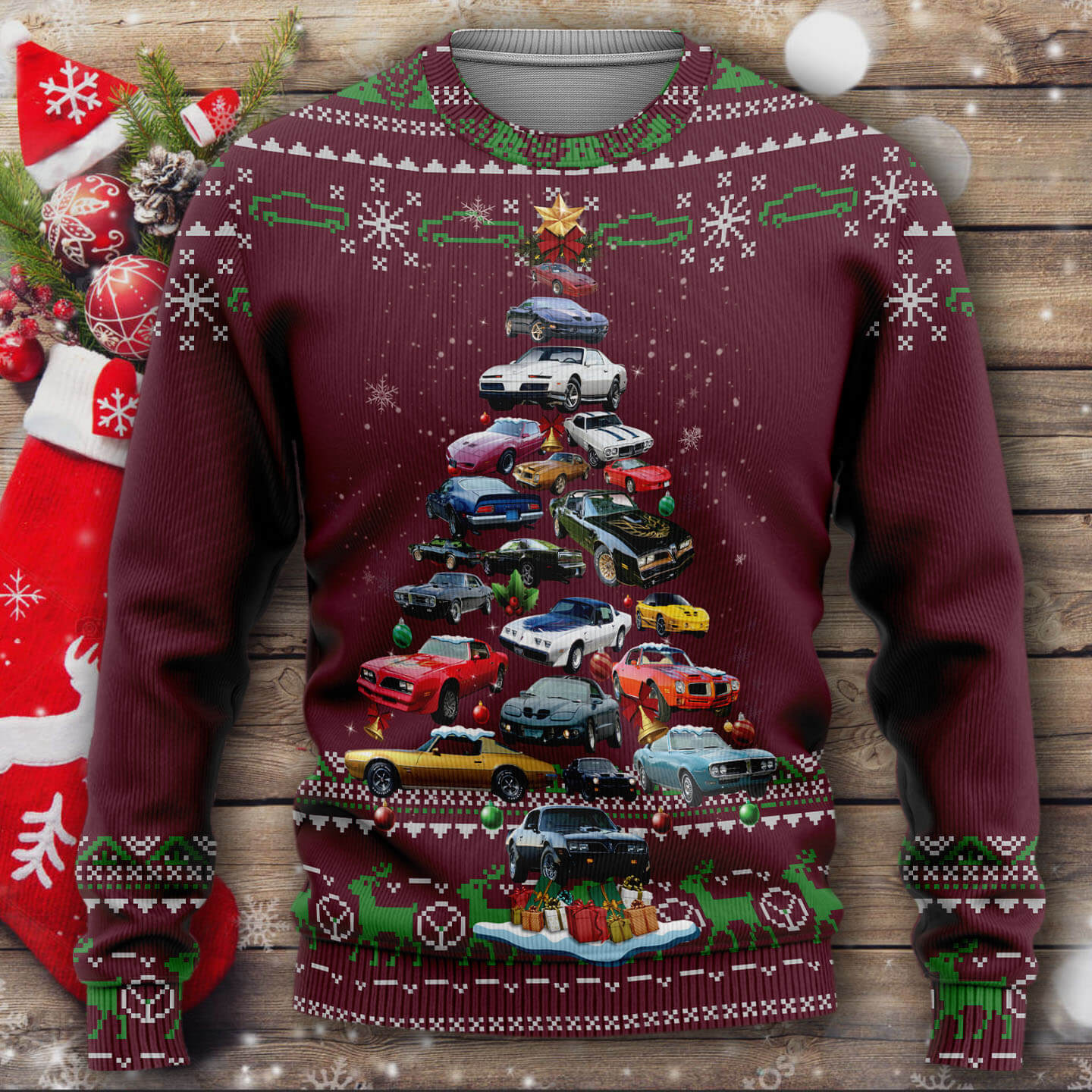 Firebird Christmas Sweater
