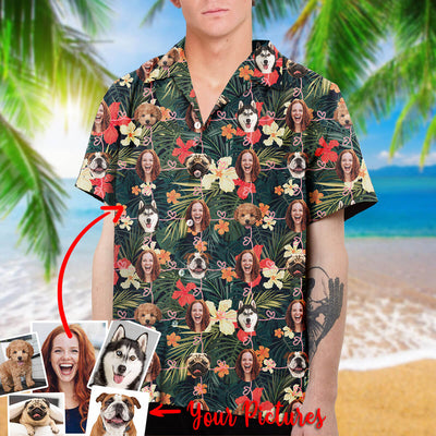 Personalized Dog and Human Hawaiian Shirt
