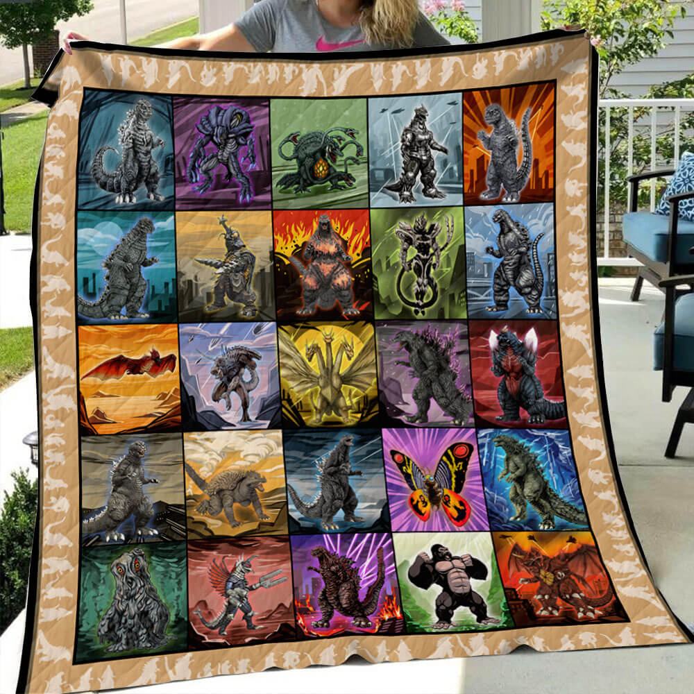 2020 Kaiju Collection Art Quilt