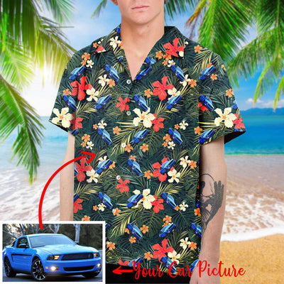Personalized Car Collection Hawaiian Shirt and Beach Short