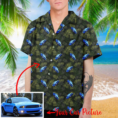 Personalized Car Collection Hawaiian Shirt and Beach Short (v2)