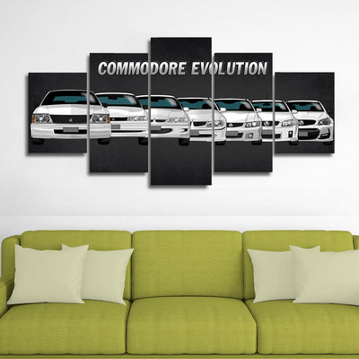 Holden Commodore Canvas Wall Art