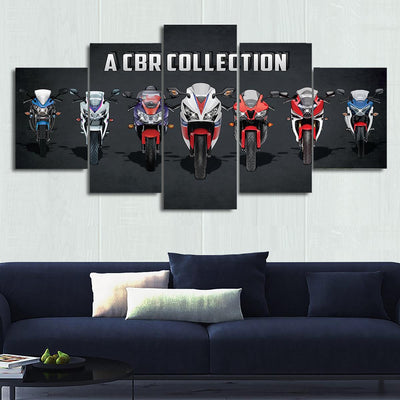 CBR Series Canvas Wall Art