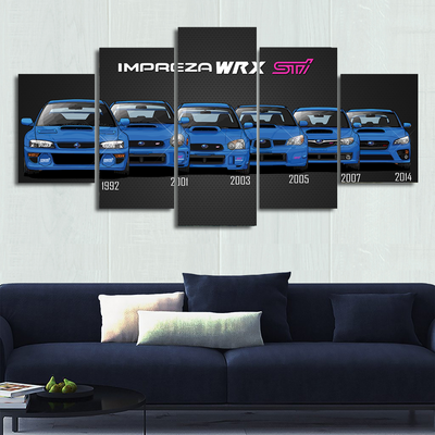 Impreza Canvas Wall Art