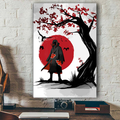 Itachi Eastern Style Canvas Wall Art