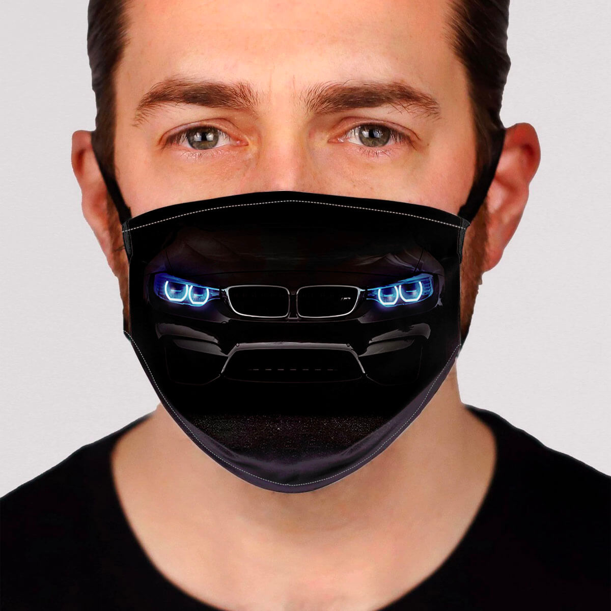 B.M.W Headlights Face Mask
