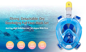 RKD Underwater Diving Mask with Camera Mount