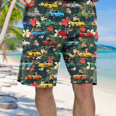 911 Collection Art Hawaiian Shirt and Beach Short