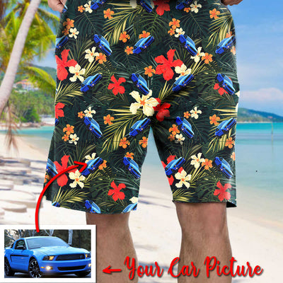 Customized Hawaiian Shirt - Personalized Shirts with Cars on Them