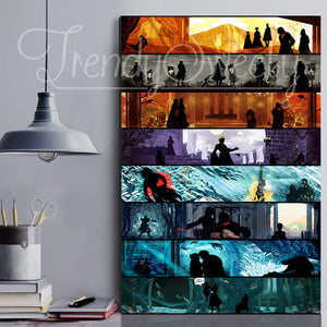 GOT The Best Moments Canvas Wall Art