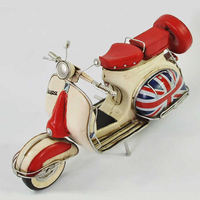Vintage Metal Craft Scooter Model