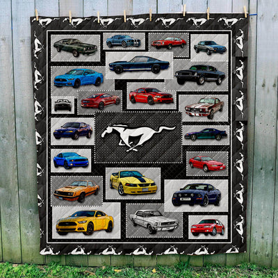 Mustang Collection Art Quilt