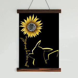You Are My Sunshine Canvas Wall Art (no.3)