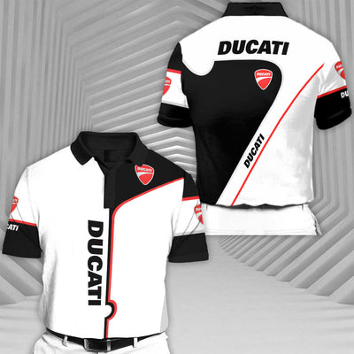 Ducati-RCV1 Racing Series Short Sleeve Polo T-Shirt