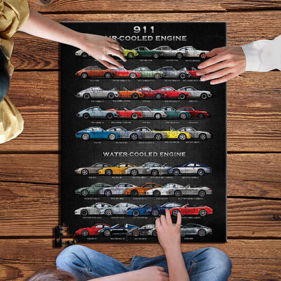 911 Collection Wooden Jigsaw Puzzles