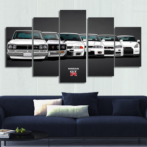 Separate Frame for Nissan Skyline / GTR Canvas Wall Art