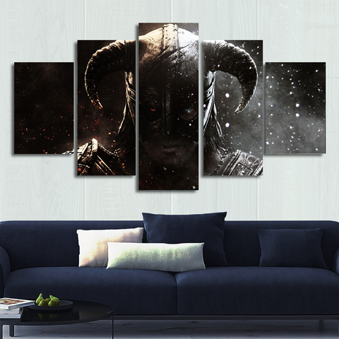 Skyrim Canvas Wall Art