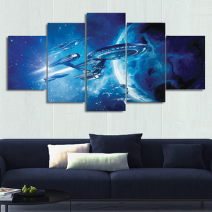 ST Ships Canvas Wall Art