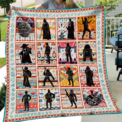 Star Wars Silhouette Art Quilt