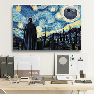 SW Starry Night Framed Canvas Prints