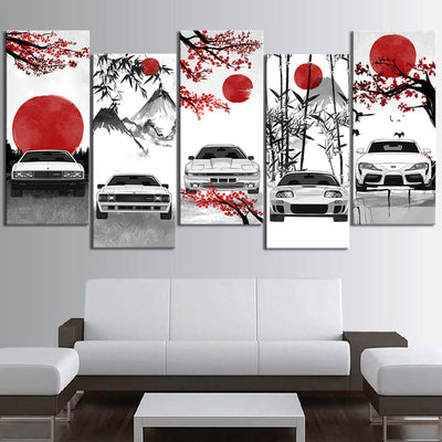 Supra Eastern Style Canvas Wall Art