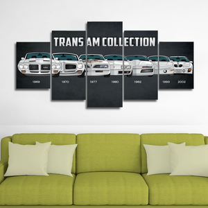 Trans Am (revised) Canvas Wall Art