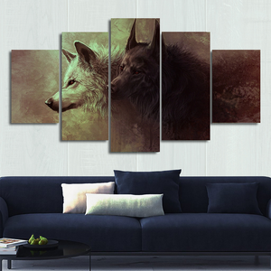 Wolf Canvas Wall Art