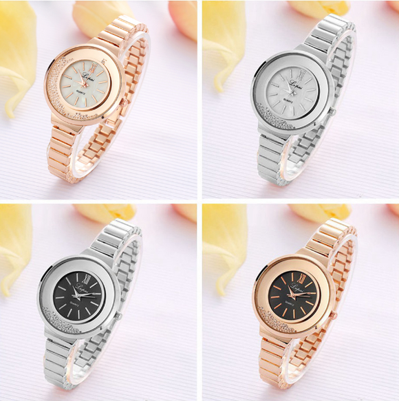 Fashion Design Women Watch Stainless Steel