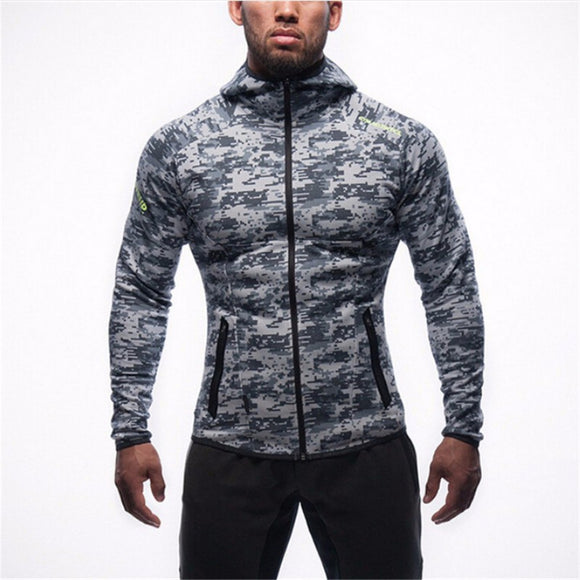 Body Building Gym Hoodies Fitness Clothes Jackets Sports Wear - Buy1More