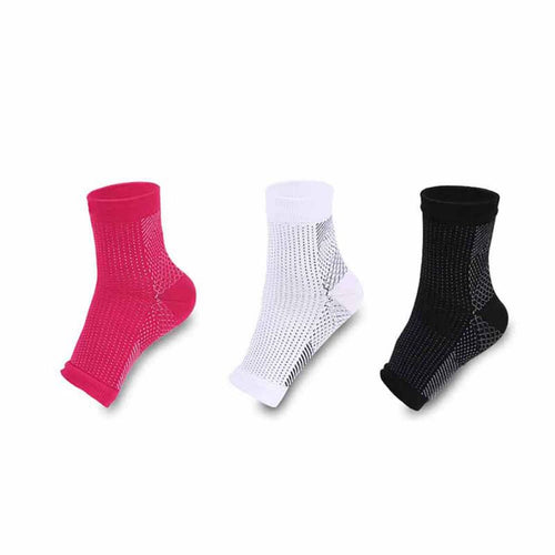 2 Pairs of Anti Fatigue Compression Socks - Buy1More