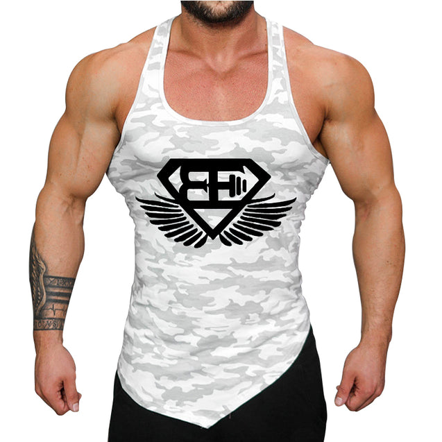 Body Building Men Tank Tops Gym - Buy1More
