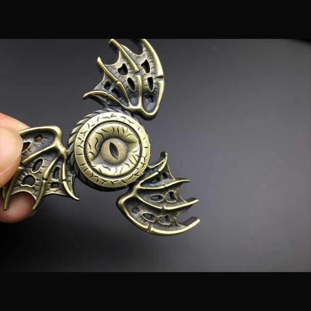 Game of Thrones Spinner Metal Finger Stress Tri Spinner Dragon EDC Toys - Buy1More