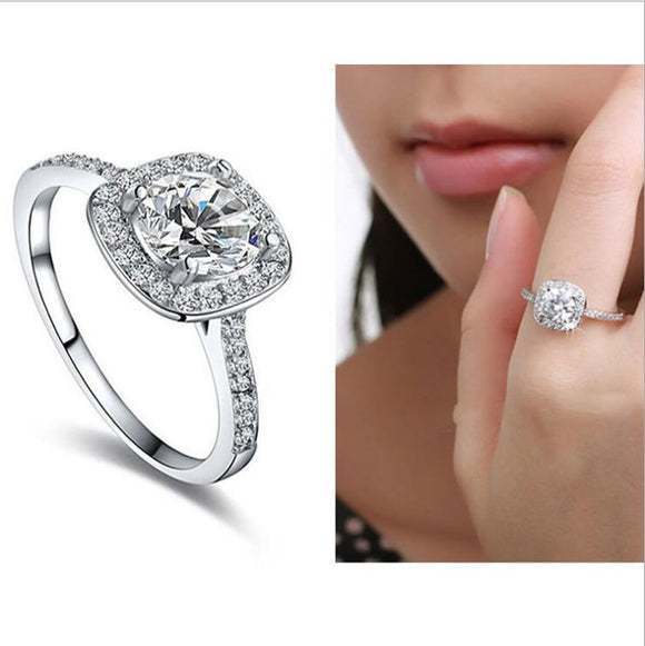Women Fashion Crystal Ring - Buy1More
