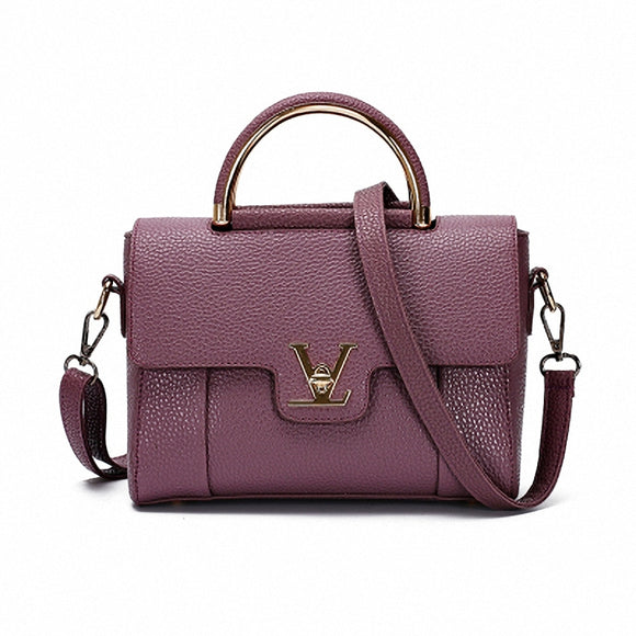Fashion Women  Saffiano Leather HandBag