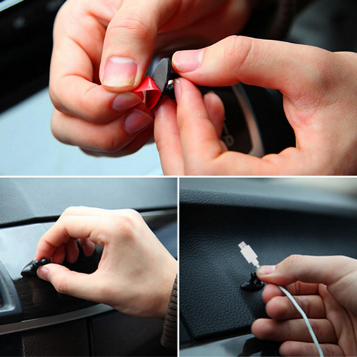 Car Wire Multifunctional Cable Holdere Clip (8 Pcs) - Buy1More