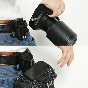 Dslr Camera Mount Clip Waist Belt