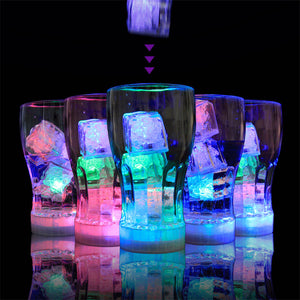 Led Water Activated Ice Cubes (12Pcs)