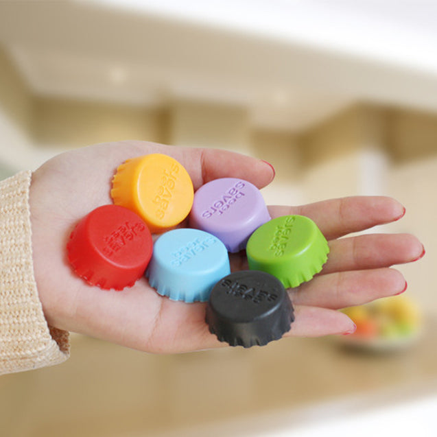 12 Pices Silicone Rubber Button Beer - Buy1More