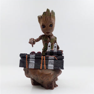 Handcrafted Groot Pushing Death Button - Buy1More