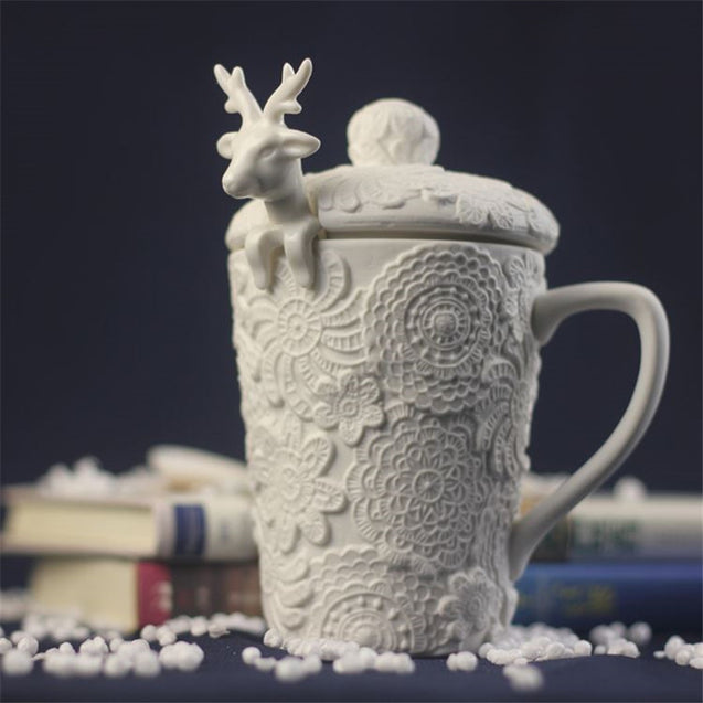 Christmas Deer Coffee  Mugs - Buy1More