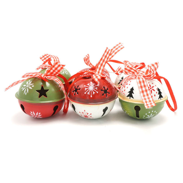 Set of 6 Pieces bells Christmas Tree Decorations - Buy1More