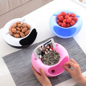 Double Layer Snacks Storage Box - Buy1More