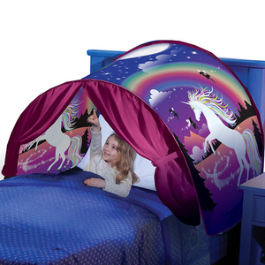 Pop-Up Bed Tent With Light - Buy1More