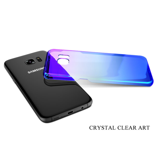 Luxury Ultra Slim Case Glossy Design Dual Layered  For Samsung Galaxy Series - Buy1More