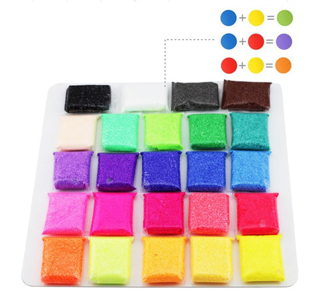 24 Pieces High Quality Foam Handmade Diy Non Toxic Best Gift For Kids - Buy1More