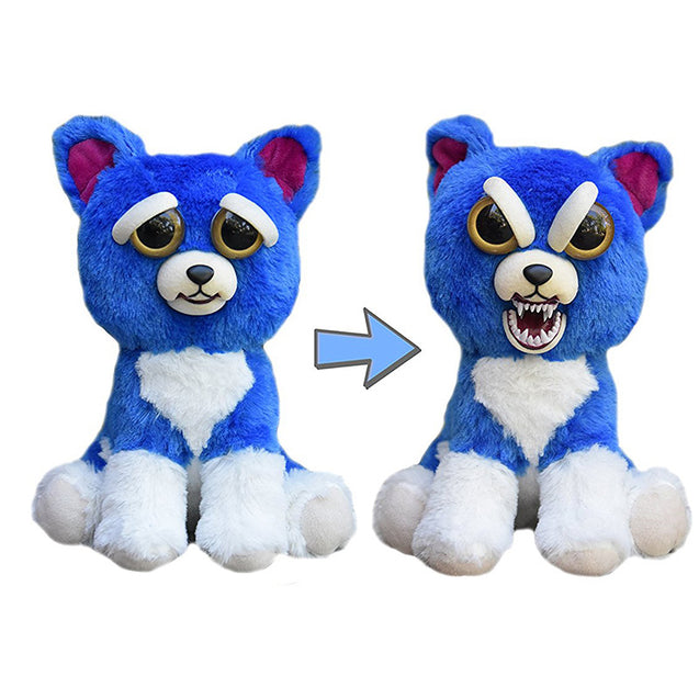 Feisty Funny Expression Pets Plush Toy - Buy1More