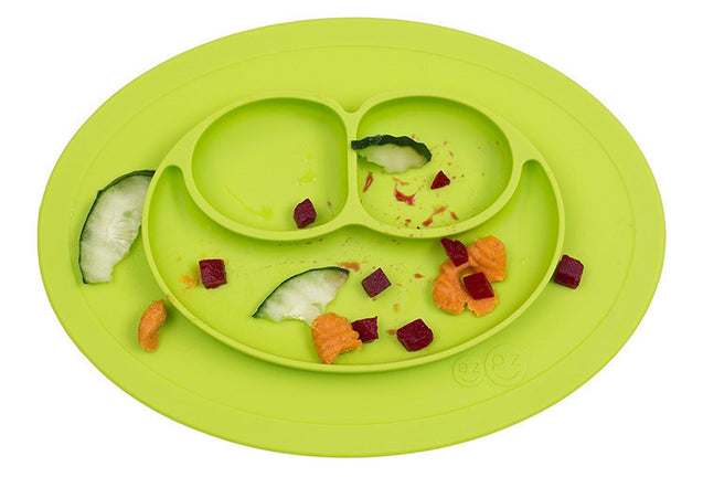 Silicone Suction Place-mat Baby Bowl