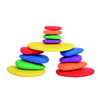 36 Pieces Rainbow Pebbles Learning Advantage - Buy1More