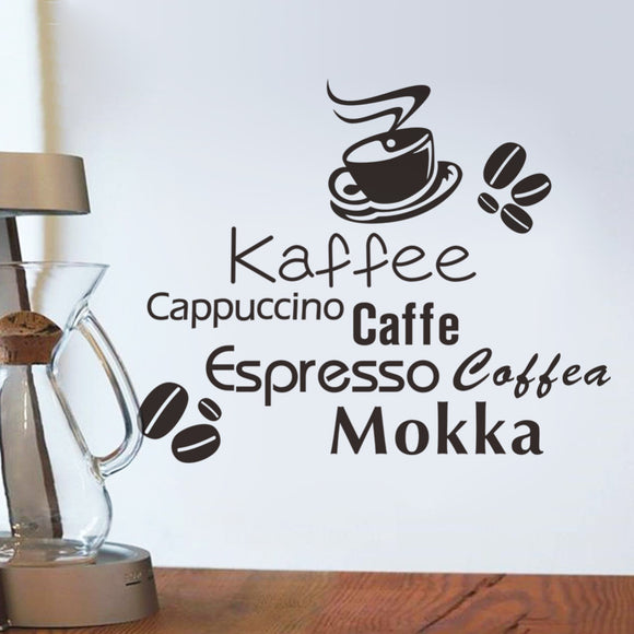 Coffee Wall Sticker - Buy1More